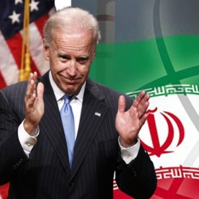 "Joseph Biden's call for an ""improved relationship with Iran"""