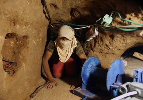 Arab Child labor for Hamas Tunnels