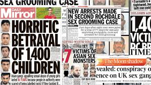 UK Grooming Gang Headlines