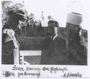 himmler and mufti