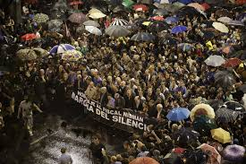 YO SOY NISMAN | Argentinians take to the streets to protest the murder of AlbertoNisman