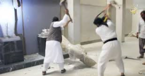 Followers of Muhammad destroy 3,000 year old antiquities