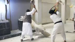 Followers of Muhammad destroy 3,000 year oldantiquities