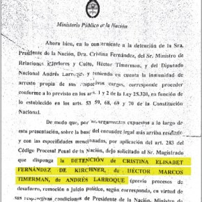 Nisman pensó en pedir el arresto de CristinaKirchner