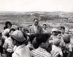 "Frank Sinatra visits Israel: ""a bettersociety"""