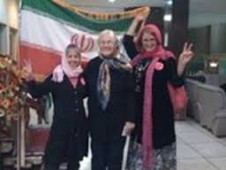 Codepink in IRAN 1