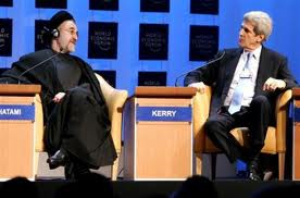 """The overthrow of Saddam Hussein was a great fortune for us."" spoke   Mohammed Khatami, fmr. president of Iran — The secret history of Iran and John Kerry 