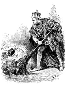 British Royals Dropping German Titles - Cartoon