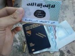 Bosnian ISIS passport