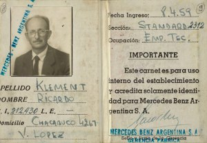 Eichmann Argentinian document