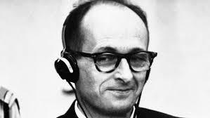 Eichmann smirking
