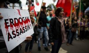 Erdogan Assassin Paris Kurdish Protest