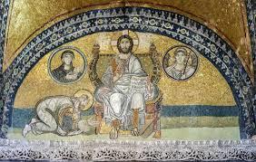 Hagia sophia 2 interior mosaic