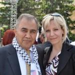 PLO Ambassador with Marina Mia Koncar