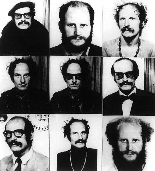 German Terrorist - Dieter Kunzelmann