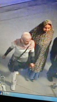 Hijab - Costco Santa Cruz Theft 1