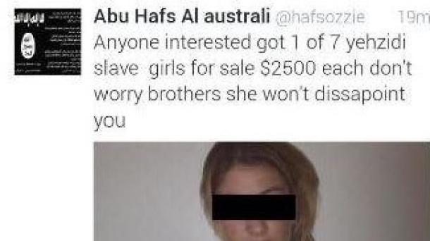 Islamic State Slave Post