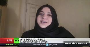 Aysegul Gurbuz RTV Islamic Hitler - Jugend