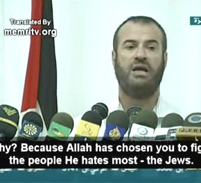 """Brothers, half of the Palestinians are Egyptian and the other half are Saudis"" 