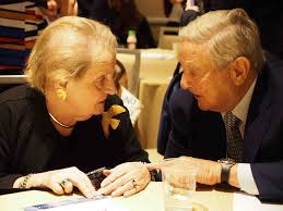 Soros Albright Clinton Foundation