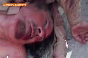 gaddafi murdered