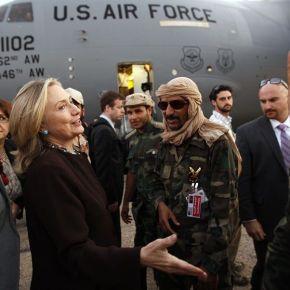 Hillary Clinton's gleeful reaction to Gaddafi's murder during a TV interview   on CBS News(Video)