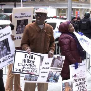 Black Lives Matter… unless you're Haitian: How Hillary and Bill Clinton enriched themselves on the backs of the Haitianpeople