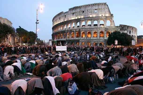 Rome muslim-prayers-rome