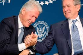 clinton-bush-shake