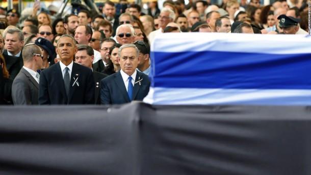 obama-netanyahu-peres-funeral
