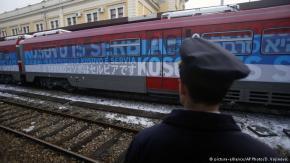 E vërteta: Kosova është Serbi – Serbia sends train to Kosovo to fight US-backed illegal occupation by Albanian drug lords, foreignforces