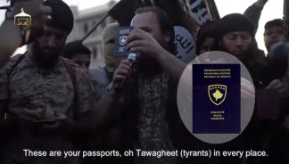 Kosovo Isis passports