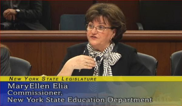 NY Education Commissioner Maryellen alia