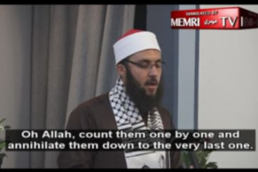 "Muslim cleric in U.S. California mosque  explains why every last JEW must die…and not just in ""Palestine"""