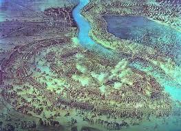 Senj Battle - defeat of Turks on the Tisa River