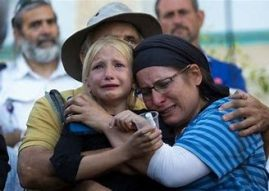 Hallel Yaffa - her grieving family