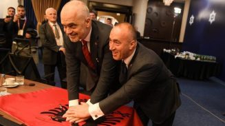 albania to anex kosovo rama-haradinaj