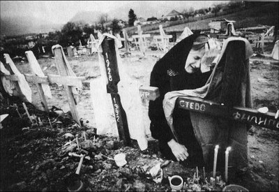 Serb mother grieves for murdered child in Bosnia