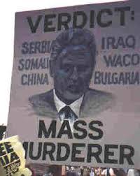 Clinton - Verdict mass murderer