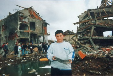 NATO Bombing 1999 boy - 2