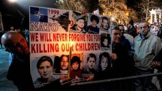 NATO we will never forgive you for killing our children - Serbia