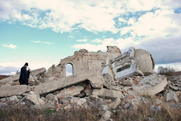Serbian Church destroyed petition