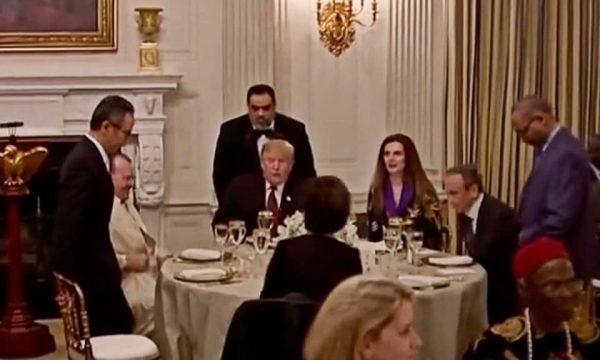 Trump - IFTAR Dinner - Kosovo Ambassor 1