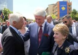 Clinton albright clark kosovo 2019