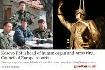 Thaci_civilian_w_soldiers-KLA-Kosovo-UCK - Guardian