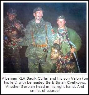 Albanian atrocities Kosovo