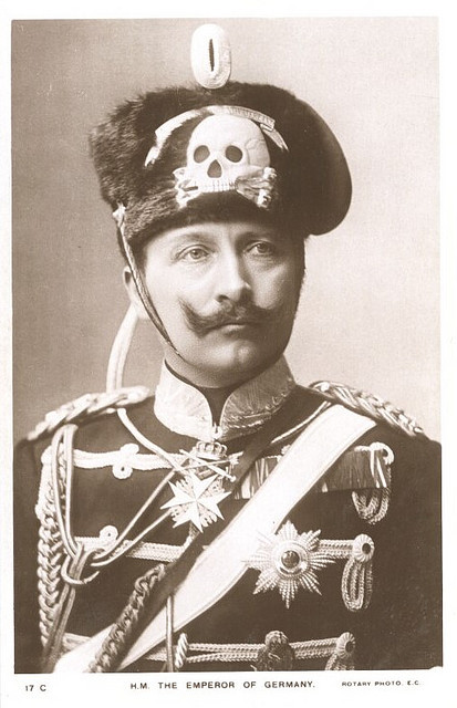 germany royals - kaiser-wilhelm-ii - skull emblem