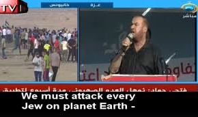 """We must attack every Jew on planet Earth and slaughter and kill them""  