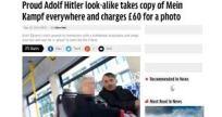 Kosovo Hitler Impersonator - Emin Gjinovci - Headline
