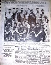 Serbia - Newspaper Clippings Halyard Group photograph